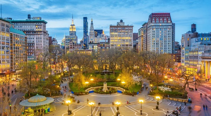 Photo of Union Square in New York City
