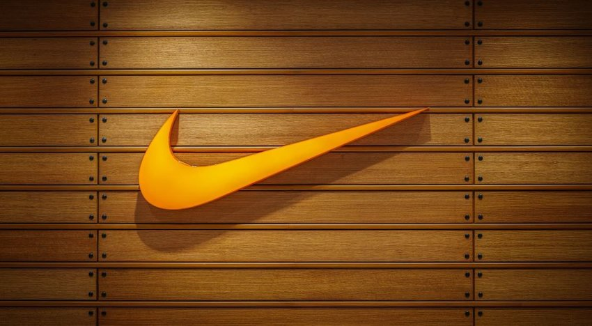 Photo of Nike swoosh logo