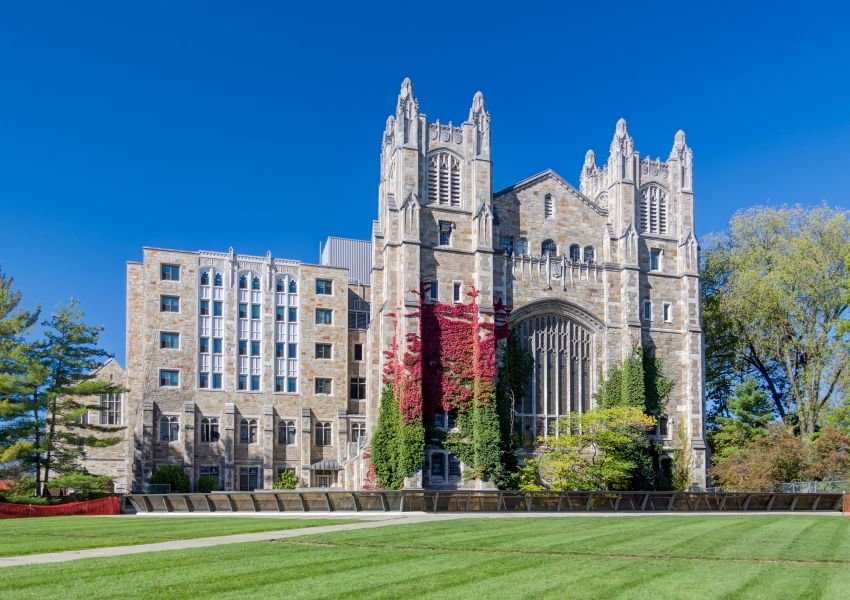 A castle-like building on the campus of the University of Michigan, Ann Arbor