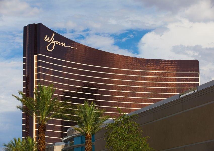 Photo of the Wynn hotel in Las Vegas
