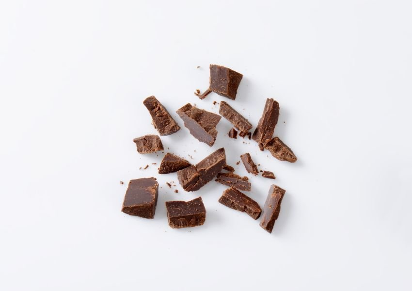 Photo of crushed up chocolate