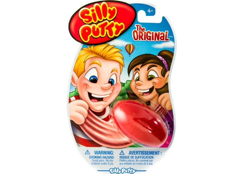 Photo of Silly Putty toy packaging