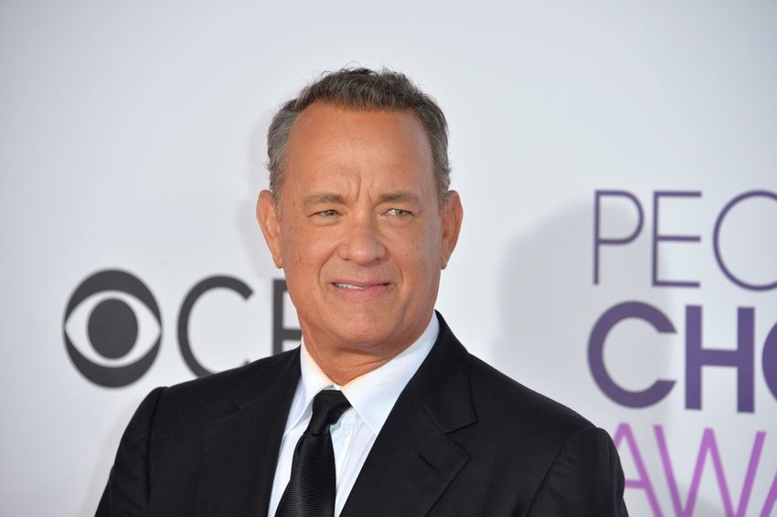 Tom Hanks at the 2017 People's Choice Awards in Los Angeles, California