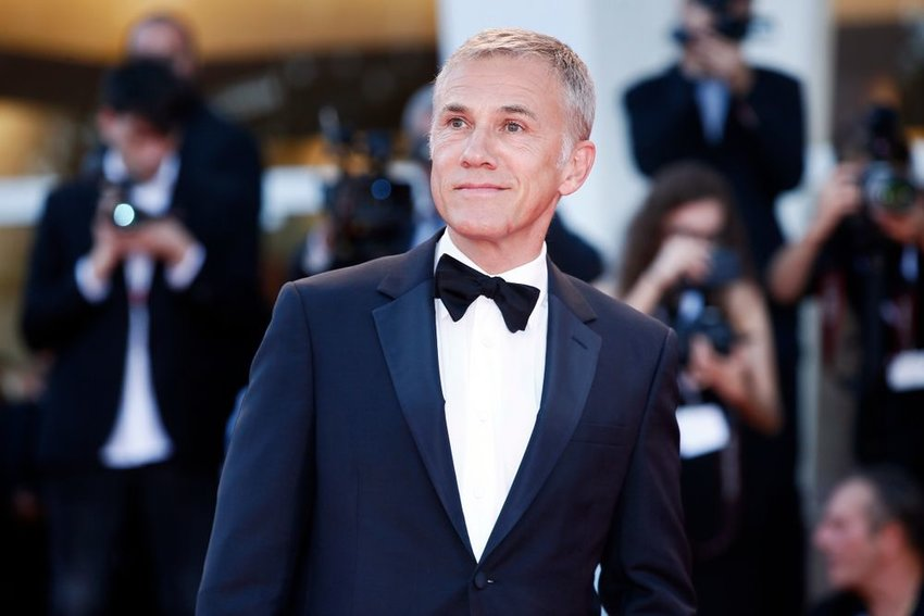 Actor Christoph Waltz on the red carpet of the 75th Venice Film Festival