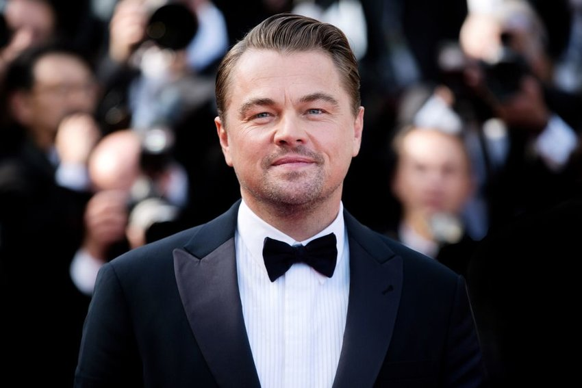 Actor Leonardo DiCaprio on the red carpet at 72nd Cannes Film Festival