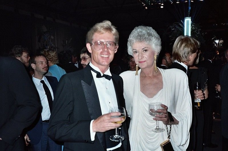 Bea Arthur at the 39th Emmy Awards in September 1987
