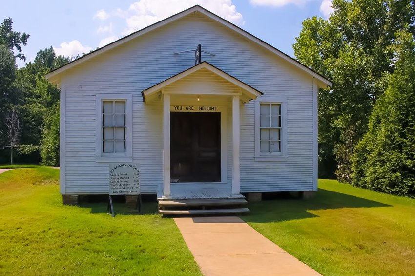 Elvis Presley Family Church, The Assembly of God in Tulepo, Mississippi