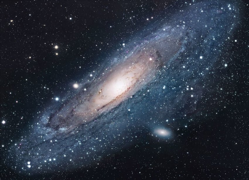 Space view of M31: Andromeda, the nearest galaxy to our own