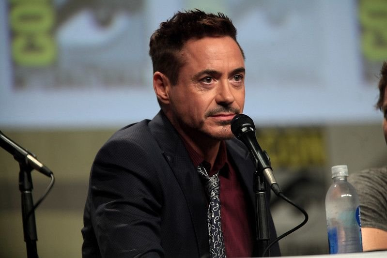 Robert Downey Jr. at San Diego Comic Con International