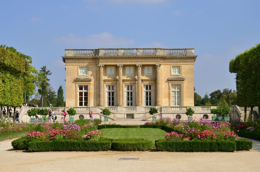 The Petit Trianon at the Versailles Palace, France