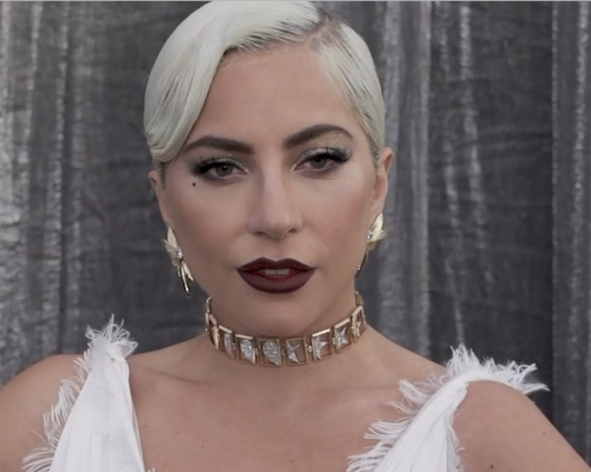 Lady Gaga at 2019 SAG Awards Red Carpet