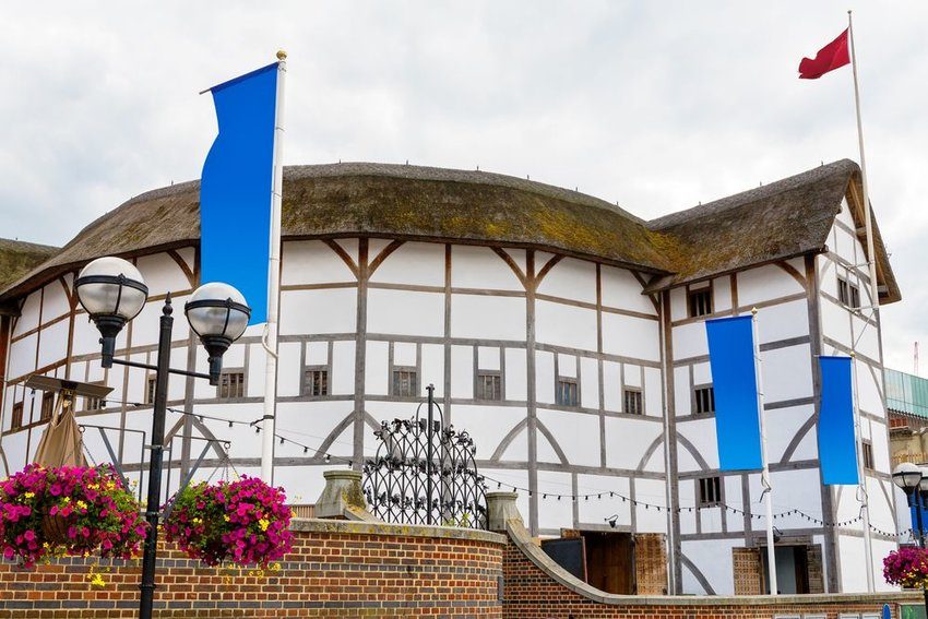 The Shakespeare Globe Theatre in London