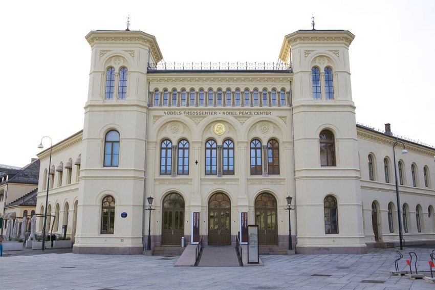 Exterior of the Nobel Peace Center