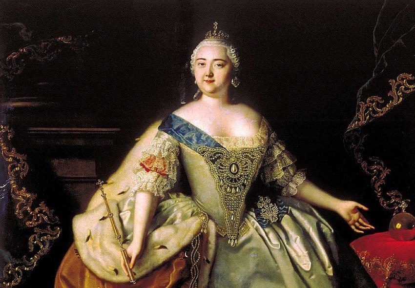 Portrait of Elizabeth of Russia