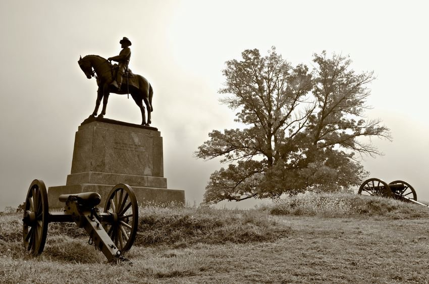 East Cemetery Hill is the historic location of a memorial to the Union Army Major General.