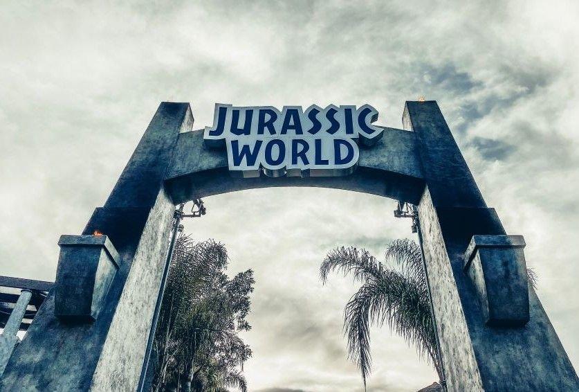 Jurassic World at Universal Studios.