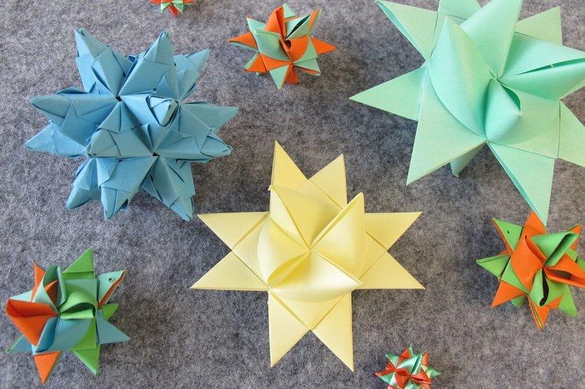 Multiple origami roebel stars