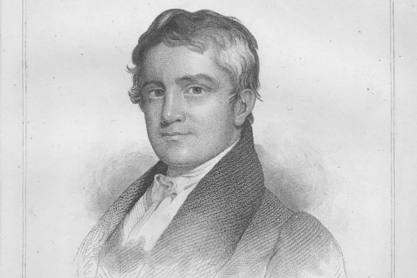Engraved portrait of George M. Dallas from 1834