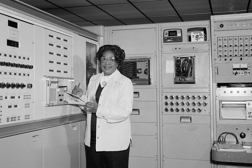 Mary Jackson at NASA Langley Research Center